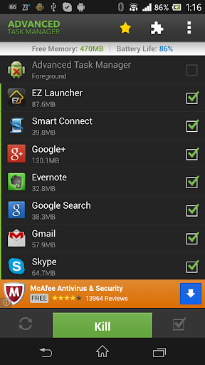 advanced-task-manager-killer for android screenshot