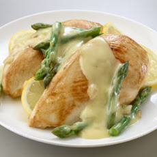 Savory Chicken & Asparagus Hollandaise