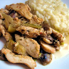 Chicken With Shitakes and Artichokes