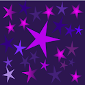 Crazy Home Purple Stars Dark icon