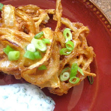 Onion Bahji (Indian Onion Fritters)