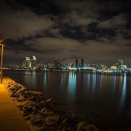 San Diego Skyline from Coronado by Darin Mellor - Buildings & Architecture Other Exteriors ( san diego, 2014, california, skylines, coronado, landscapes )