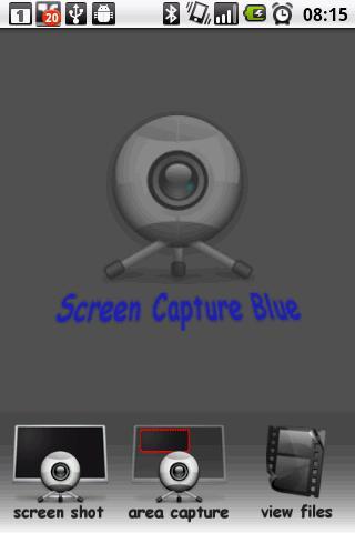 Screen Capture Blue DEMO