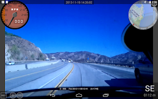 Screenshot of Dashboard Cam