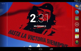 Screenshot of Che Guevara LWP Free