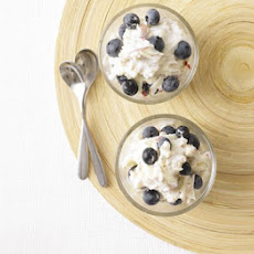 Blueberry Bircher Pots