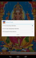 Screenshot of Lord Ganesha Mantra