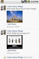 Screenshot of Like Funny Things On Facebook