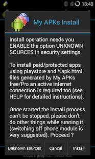 My APKs Install restore apps- screenshot thumbnail