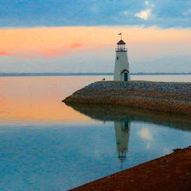 Oklahoma Lighthouse by Kathy Suttles - Buildings & Architecture Other Exteriors