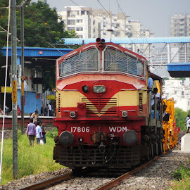 Jumbo by RF Ashok - Transportation Trains ( 17806, htcy, gtl, jumbo, wdm-2 )