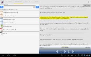 Screenshot of Pdf to Speech Pro