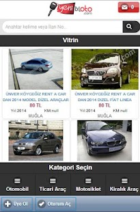 Yenibioto Mobil Uygulama - screenshot