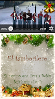 Screenshot of Spanish Christmas Carols