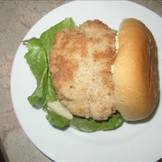 Chicken Pattie Sandwiches