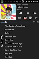 Screenshot of FusionPro Music Player Beta