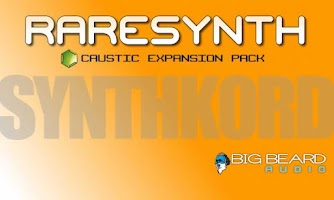 Screenshot of Caustic Pack SYNTHKORDS PRO