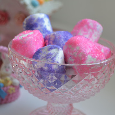 Sugared Coated Marshmallows