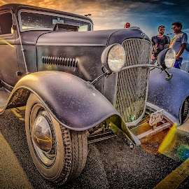 Sunset by Ron Meyers - Transportation Automobiles