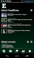 Screenshot of Eastern Michigan Eagles