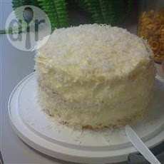 Delicious Fresh Coconut Cake