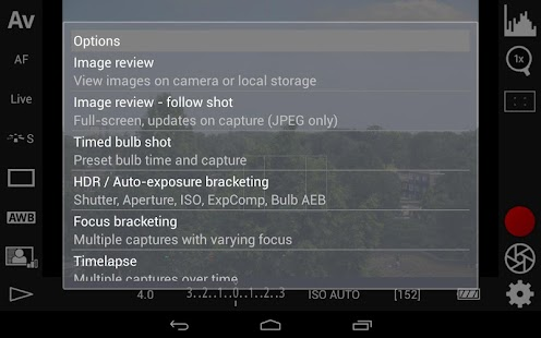 App DSLR Controller (BETA) APK for Windows Phone