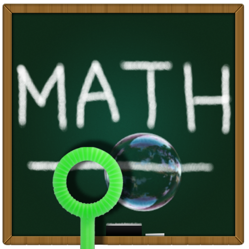 解謎必備App|Bubble Pop Math Kids Game Free LOGO-綠色工廠好玩App