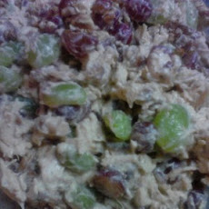 Chicken Salad with Grapes & Pecans
