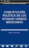 Screenshot of Constitution of Mexico