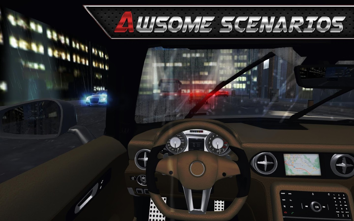 Real Driving 3D Screenshot 9