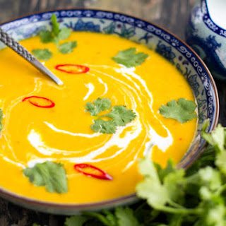 Spicy Pumpkin Coconut Soup