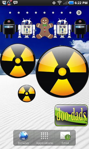 Radiation doo-dad