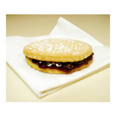 Fruit Preserve Sandwich Cookies