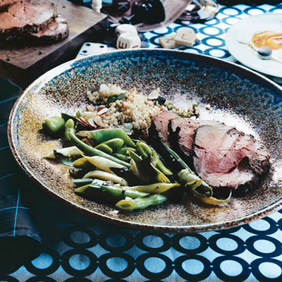 Black Pepper Spice-Rubbed Beef Tenderloin