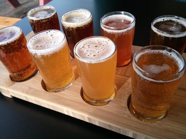 Gluten free beer flight