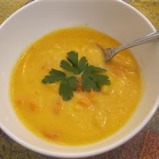 Dylan's Potato, Carrot, and Cheddar Soup