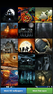 Spooky Halloween HD Wallpapers - screenshot