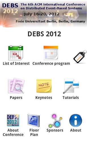 DEBS 2012