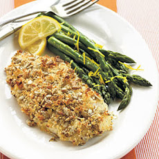 Sunflower Seed-Crusted Orange Roughy