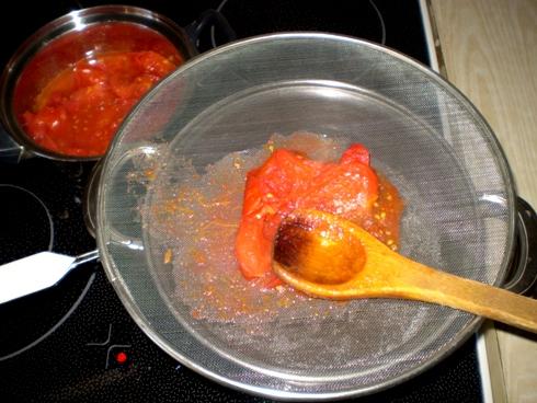 Pomidorų trynimas