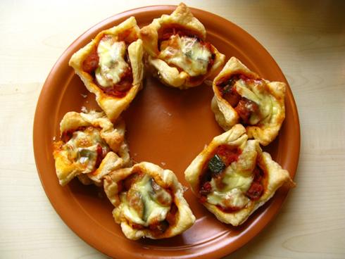 Pyragėliai su daržovėmis