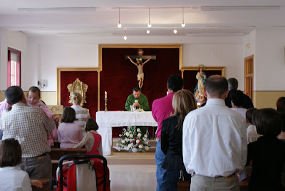 Misa en el Colegio Monseñor Miguel Castillejo