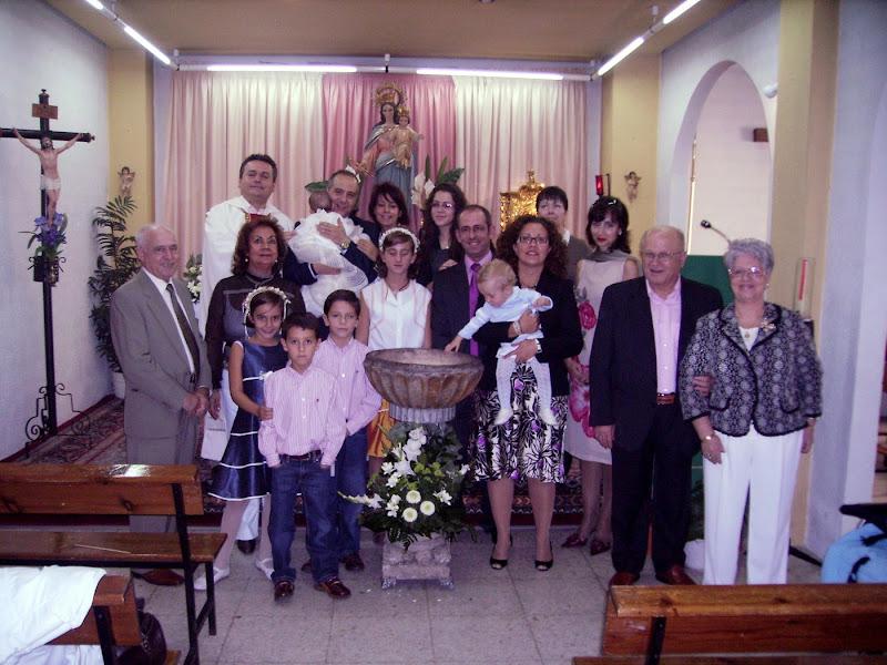 Primer Bautismo de la Parroquia de San Pedro Poveda
