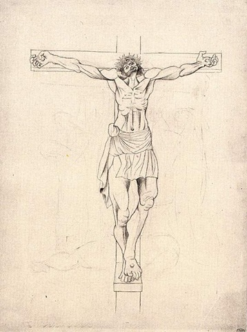 Picasso 1915 La crucifixion