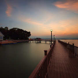 Changi Boardwalk by Ken Goh - City,  Street & Park  City Parks
