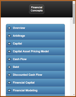 Basic Finance Concepts screenshot for Android