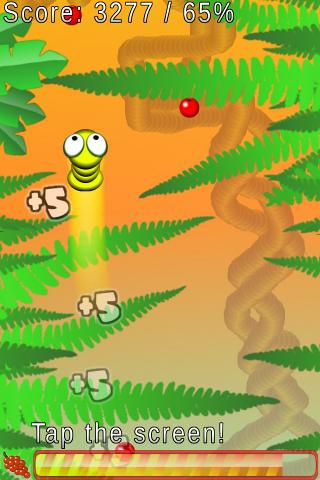 worm-jump for android screenshot