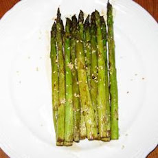 Barbecued Soy-Sesame Asparagus