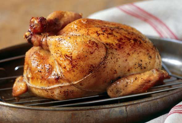Classic Roast Chicken Recept | Yummly