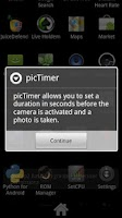 Screenshot of picTimer